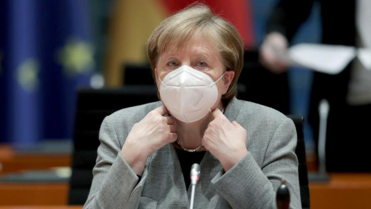 Bundeskanzlerin Angela Merkel (CDU) ist beunruhigt über die die Corona-Mutation aus Großbritannien.