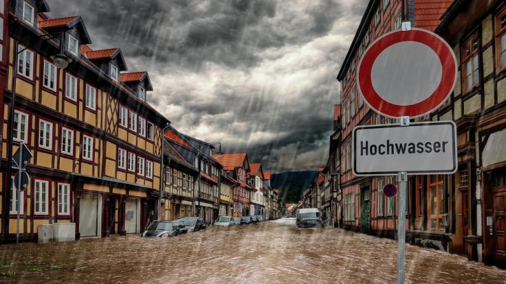 Im Südwesten Deutschlands drohen Hochwasser und Überschwemmungen. (Foto)