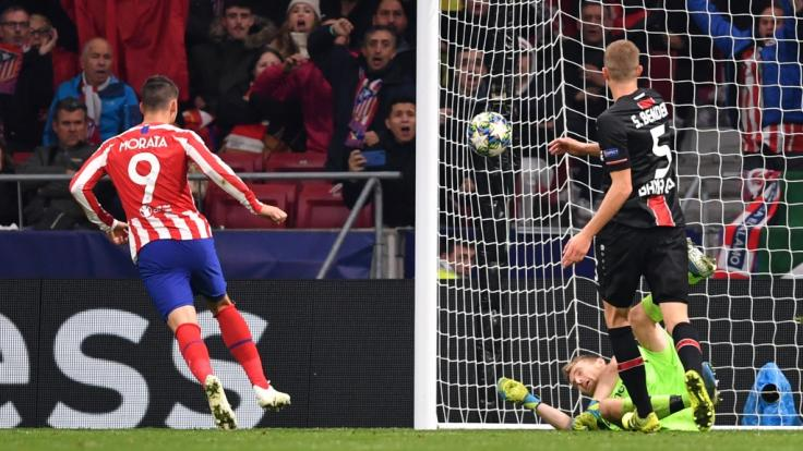 Champions League: Bayer Leverkusen verliert gegen Atletico (Foto)