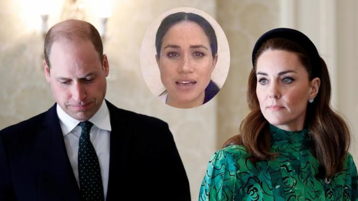 Wegen Meghan Markle haben sich Prinz William und Kate Middleton erst einmal eine Auszeit genommen.