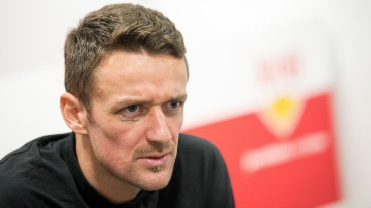 VfB-Kapitän Christian Gentner: Sein Vater Herbert Gentner ist kurz nach dem Sieg gegen Hertha BSC am Samstag, 15.12.2018, im Stadion verstorben. (Foto)