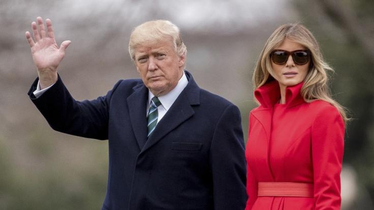 Lassen sich Donald Trump und Melania bald scheiden? (Foto)