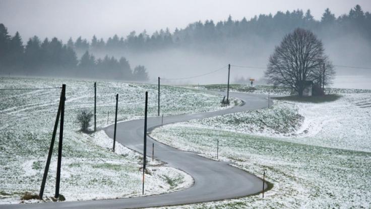 Weiße Aussichten: Der metereologische Winteranfang in Deutschland. (Foto)