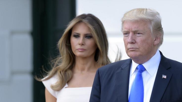 Donald und Melania Trump: Kommt die Scheidung? (Foto)