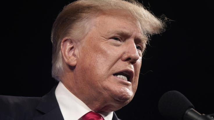 Mit der Wahlniederlage kann sich Donald Trump nicht abfinden. (Foto)