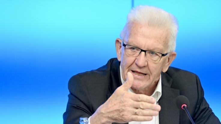 Winfried Kretschmann (Bündnis 90/Die Grünen) will mehr Rechte im Corona-Kampf. (Foto)