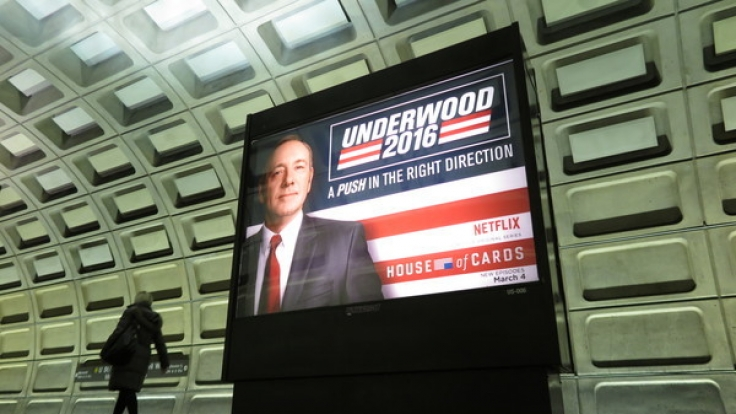 Frank Underwood ist zurück auf dem Bildschirm.