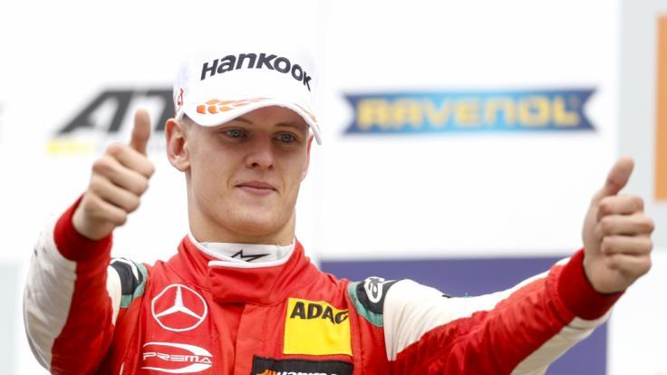 Mick Schumacher, Sohn von Formel-1-Rekordweltmeister Michael Schumacher, ist neuer Formel-3-Europameister. (Foto)