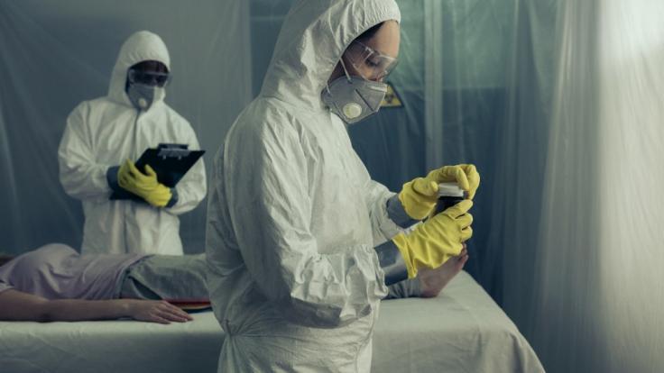 In Indien besorgt der Ausbruch einer neuartigen Krankheit die Ärzte. (Foto)