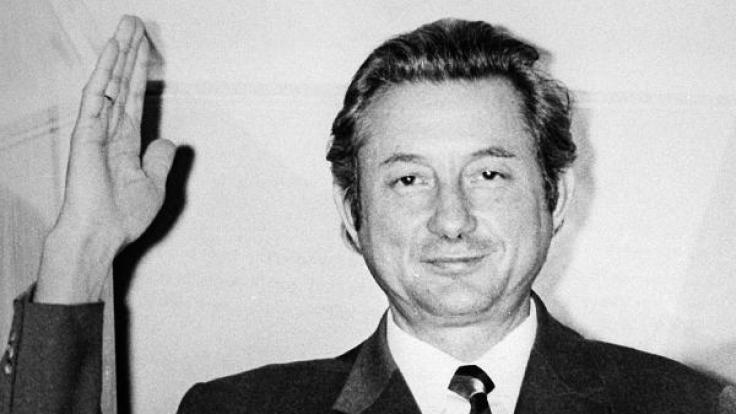 Theo Albrecht 1971. Er starb am 24. Juli 2010 in Essen.