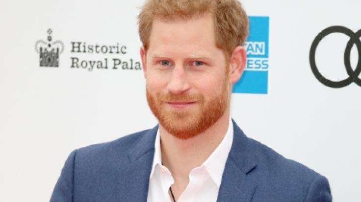 Prinz Harry war solo unterwegs. (Foto)