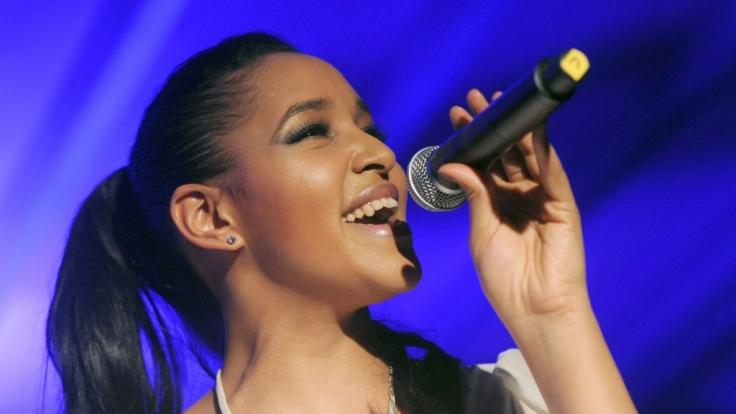 Die Sängerin Cassandra Steen. (Foto)