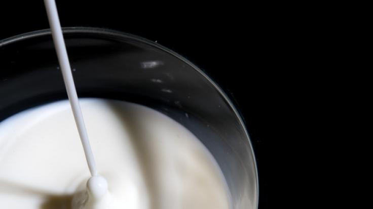 Rewe ruft Milch zurück.