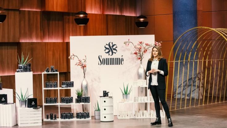 """Sümmeyya Bach aus Hamburg präsentiert mit """"Soummé"""" ein Antitranspirant für stark schwitzende Menschen. (Foto)"""
