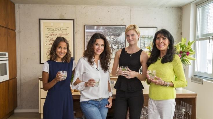 """In der aktuellen Ausgabe von """"Promi Shopping Queen"""" kämpfen Rabea Schif, Mariella Ahrens, Kim Hnizdo und Dunja Rajter um die Shopping-Krone. (Foto)"""