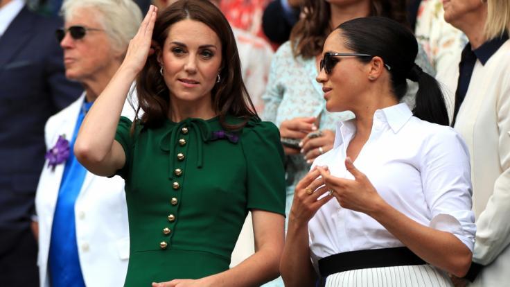 Zwischen Kate Middleton und Meghan Markle erblühte nie eine innige Freundschaft. (Foto)