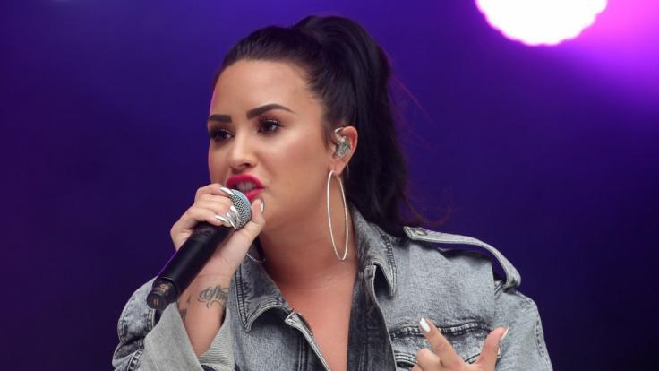 Demi Lovato heizt ihren Fans bei Instagram mit einem sexy Busen-Kracher ein. (Foto)
