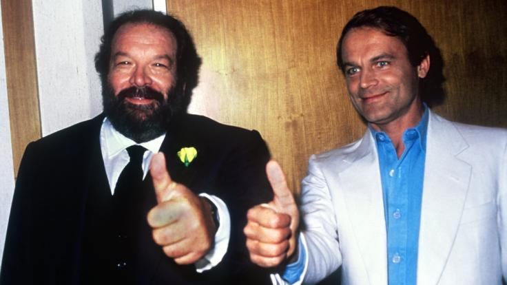 Bud Spencer und Terence Hill - bürgerlich Carlo Pedersoli und Mario Girotti - schrieben mit 18 gemeinsamen Filmen Kinogeschichte. (Foto)