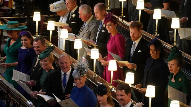 Eine enge Verwandte von Queen Elizabeth II. muss um ihren Platz in der Thronfolge bangen. (Foto)