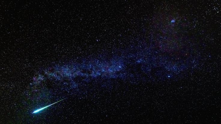 Die Ursiden sind der letzte Sternschnuppenstrom des Jahres.