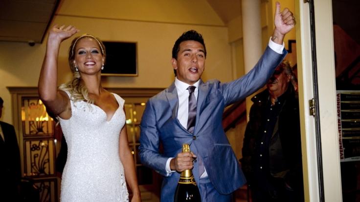 Jan Smit heiratete seine Liza am 17. November 2011.