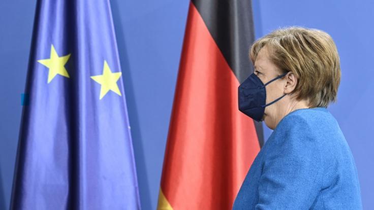Die Politik von Angela Merkel kommt nicht überall gut an. (Foto)