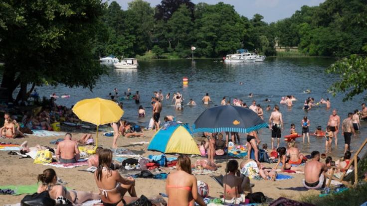 Die Hitzewelle in Deutschland sorgt für Chaos. (Foto)