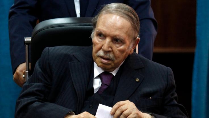 Abdelaziz Bouteflika ist tot. Der langjährige Staatschef von Algerien starb nach langer Krankheit mit 84. (Foto)