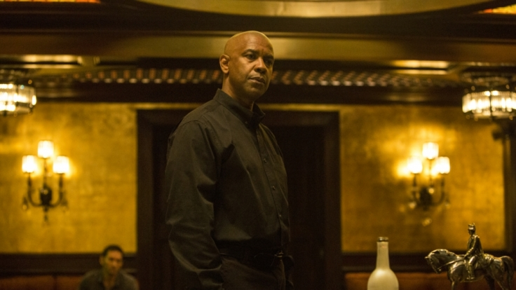 Denzel Washington (McCall) in Sony Pictures' The Equalizer.