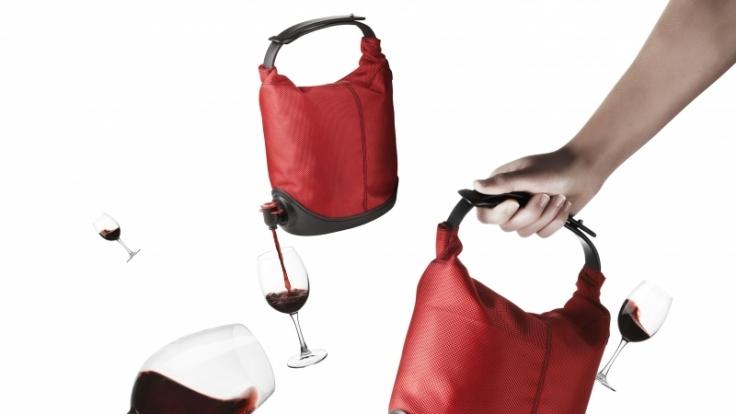 Eine Tasche für den Wein. (Foto)