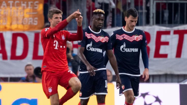 FC Bayern München startet mit klarem 3:0-Heimsieg gegen Roter Stern Belgrad