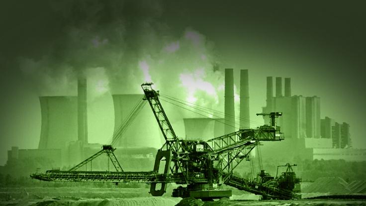 Stinkende Kraftwerke hinter angeblich grünem Strom? Ein klassischer Greenwashing-Vorwurf. (Foto)