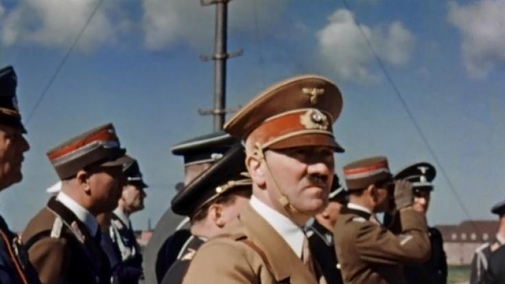 Konnte Hitler 1945 aus dem Führerbunker fliehen? (Foto)
