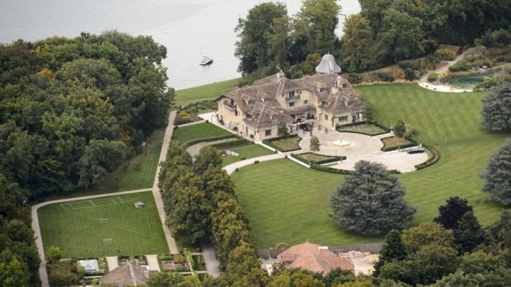Das Schumacher-Anwesen in Gland am Genfer See.