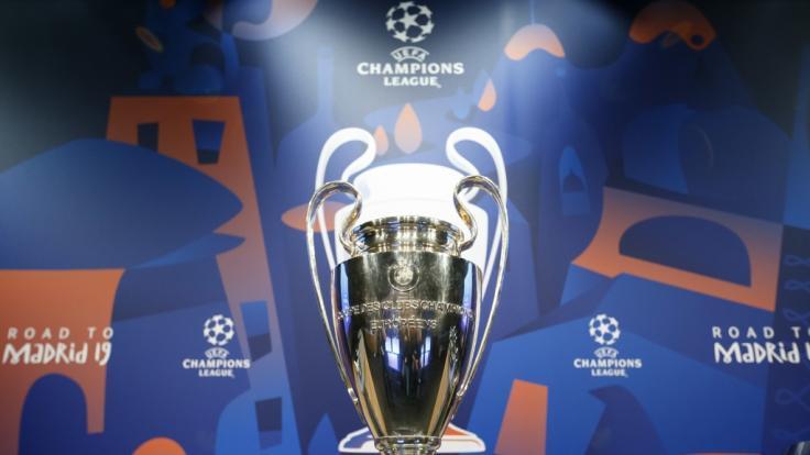 Die Auslosung der Champions-League-Viertelfinal-Spiele steht an.