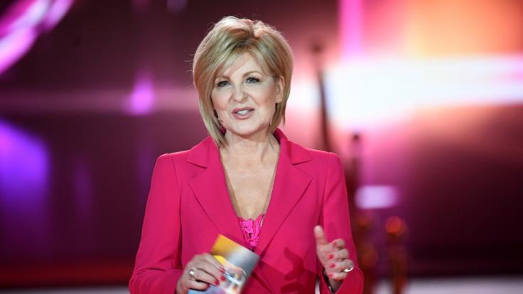 "Carmen Nebel moderiert am Samstag zum letzten Mal ihre Sendung ""Willkommen bei Carmen Nebel"". (Foto)"