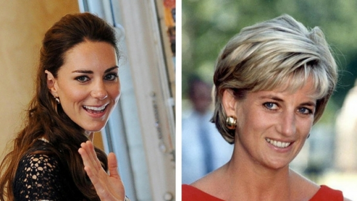 Kate Middleton und Lady Diana.