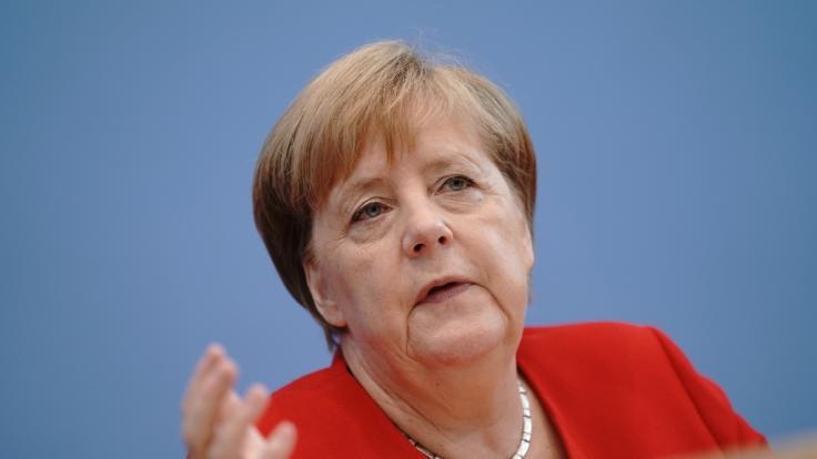 Momentan befindet sich Angela Merkel im Urlaub.