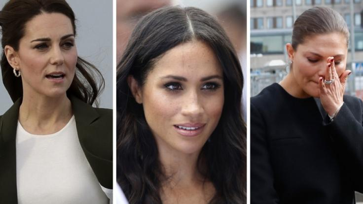 Schwere Woche für Herzogin Kate, Herzogin Meghan und Prinzessin Victoria.