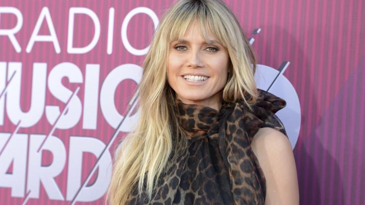 Heidi Klum sieht nicht immer so topgestylt aus... (Foto)