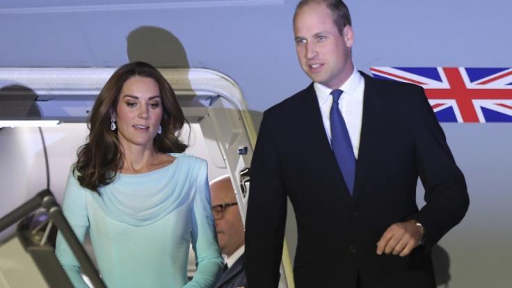 Als Eltern von drei kleinen Kindern haben Kate Middleton und Prinz William alle Hände voll zu tun, ihre royalen Pflichten zu koordinieren. (Foto)