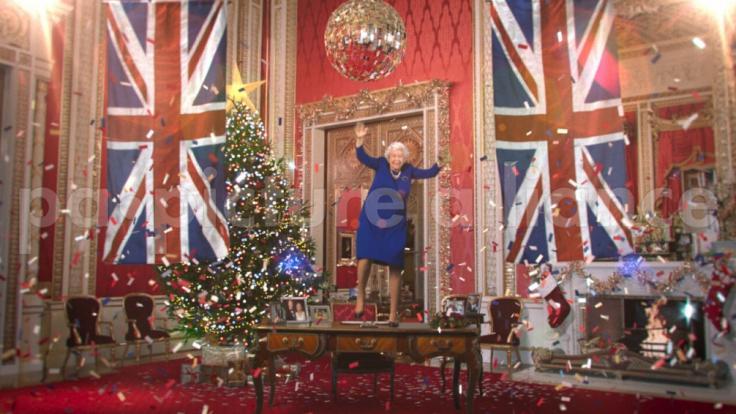 Die falsche Queen wurde von Schauspielerin Debra Stephenson gespielt. (Foto)