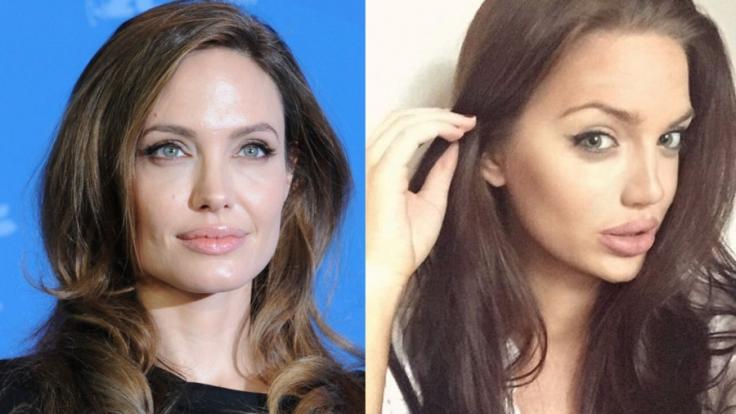 Wie eine jüngere Schwester von Angelina Jolie: Chelsea Marr.