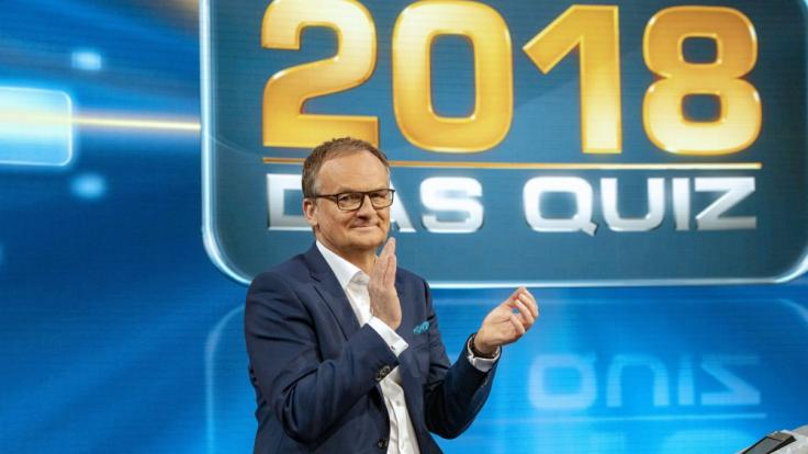 """Frank Plasberg moderiert den ARD-Jahresrückblick """"2018 - Das Quiz"""". (Foto)"""
