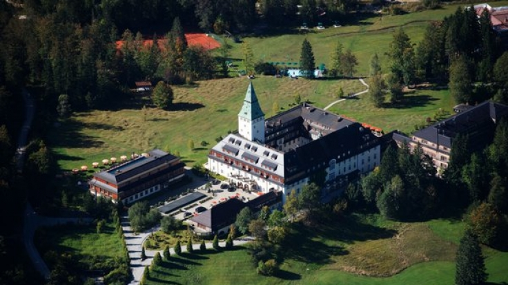 Schloss Elmau wird bald zum Austragungsort des G7-Gipfels. (Foto)