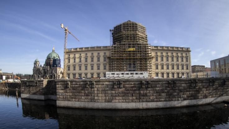 Auf der Baustelle des Berliner Humboldt Forums kam es zu einer Explosion. (Foto)