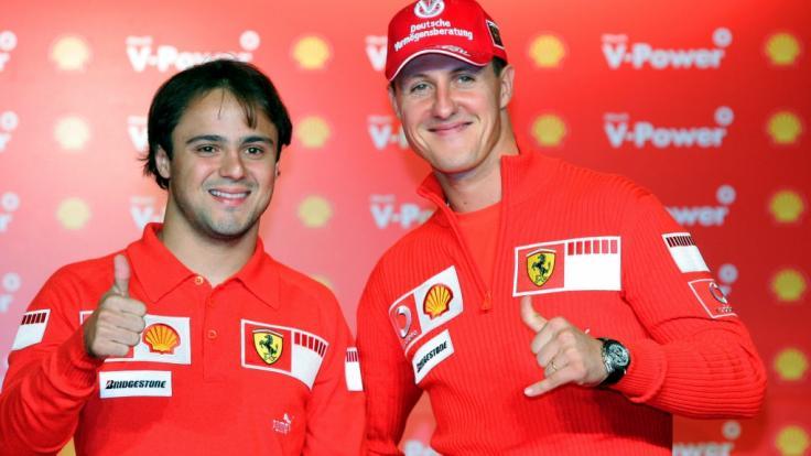 Felipe Massa ist einer der wenigen, die wissen, wie es Michael Schumacher heute geht.