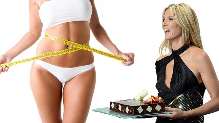 Heidi Klum mag es neuerdings mager statt kurvig.
