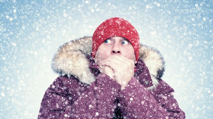 Wenn der Polarwirbel zerbricht, könnte uns ein eiskalter Wintereinbruch drohen. (Foto)