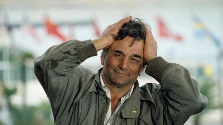 Peter Falk war Columbo. (Foto)